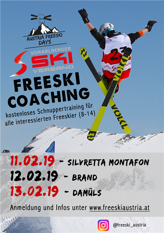 VSV Flyer Freeski Days Event HP